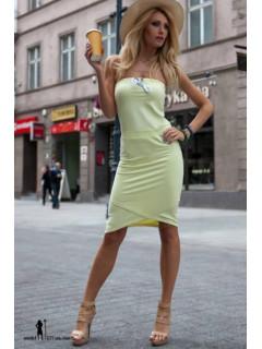 Suknelė Davi (citrinos spalvos)