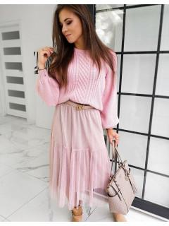 Moteriškas megztinis Tina (Rožinis)