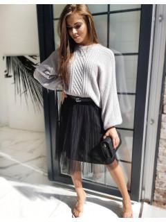 Megztinis Tania (šviesiai pilkos spalvos)
