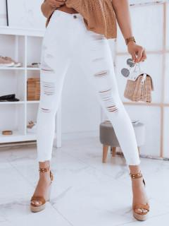 Moteriški džinsai (baltos spalvos) Dolli
