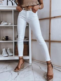 Moteriški džinsai (baltos spalvos) Karla