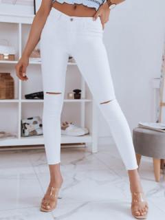 Moteriški džinsai (baltos spalvos) Marina