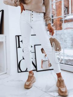 Moteriški džinsai (baltos spalvos) Whitney