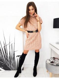 Megzta suknelė (Rožinė) Alexa