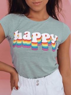 Moteriški marškinėliai (mėtinės spalvos) Alexa