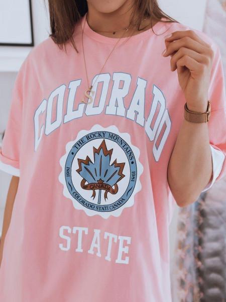 Moteriški marškinėliai (Rožiniai) Lippa