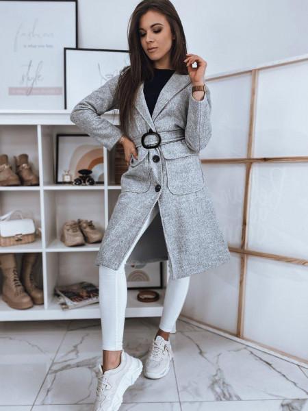 Moteriškas paltukas (šviesiai pilkos spalvos) Paulina