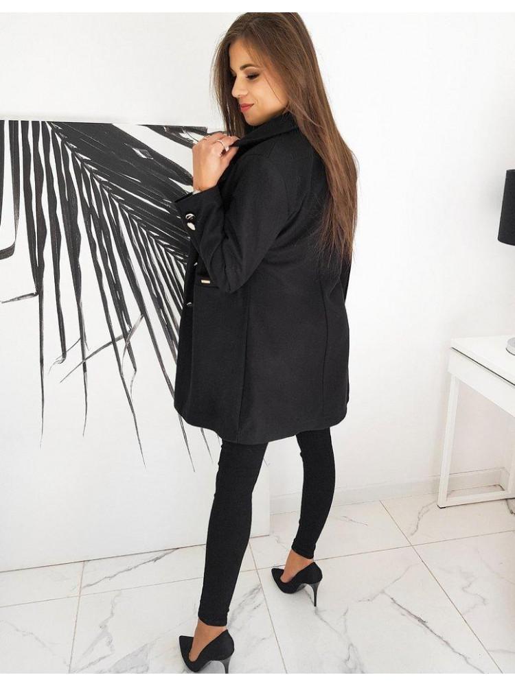 Moteriškas paltukas Silvia (Juodas)