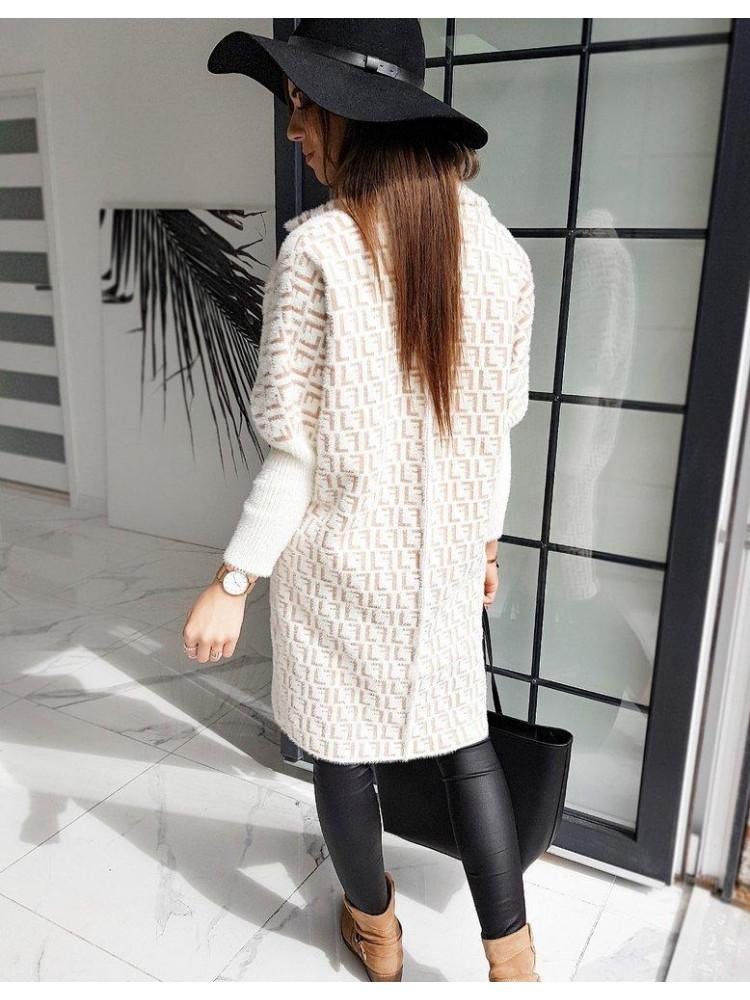 Alpaka paltukas Stacy (Kreminis)