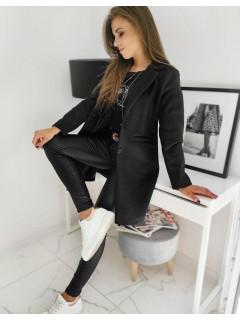 Moteriškas paltukas (Juodas) Lucy