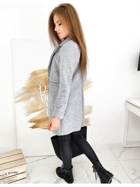 Moteriškas paltukas (šviesiai pilkos spalvos) Denisa