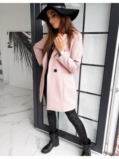 Moteriškas paltukas Elena (Rožinis)