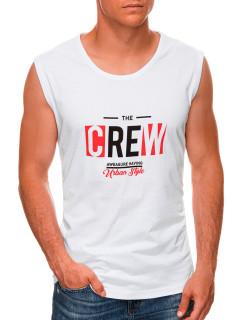 Vyriški marškinėliaii S1470 - balti Jasper