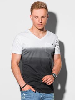 Vyriški marškinėliai S1380 (juodi) Rowan