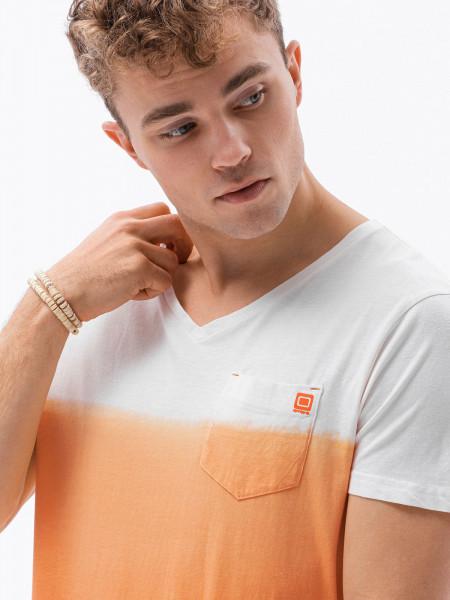 Vyriški marškinėliai S1380 (orandžiniai) Bennett