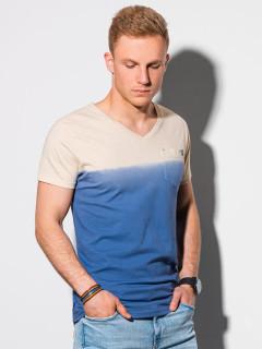 Vyriški marškinėliai S1380 (tamsiai mėlyni) Waylon