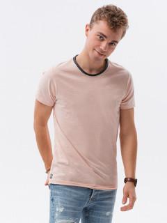 Vyriški vienspalviai marškinėliai S1385 Randy