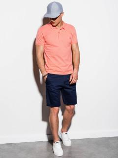 Vyriški polo marškinėliai Rory (koralo spalvos)