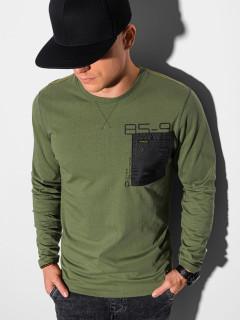 Marškinėliai ilgomis rankovėmis L130 (Chaki) Albert
