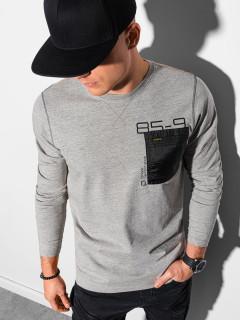 Marškinėliai ilgomis rankovėmis L130 (Pilki) Bruce