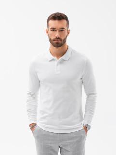 Marškinėliai ilgomis rankovėmis (Balti) Paul
