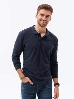 Marškinėliai ilgomis rankovėmis (Tamsiai mėlyni) Jeferson