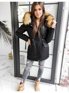 Moteriška žieminė striukė 2in1 (Juoda) Melina