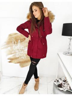 Moteriška žieminė striukė (bordinės spalvos) Anita