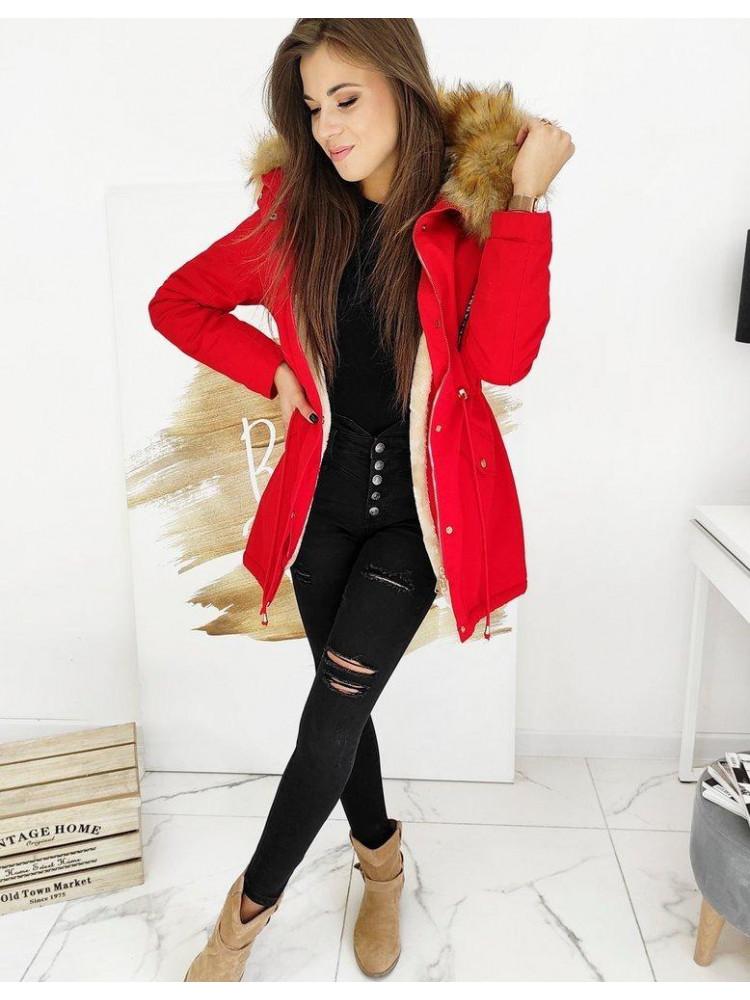 Moteriška žieminė striukė Kylie (Raudona)