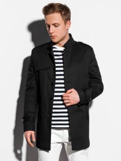 Vyriškas paltas Keary (juodos spalvos)