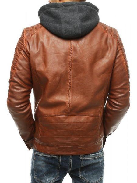 Vyriška odinė striukė Nigel (karamelinės spalvos)