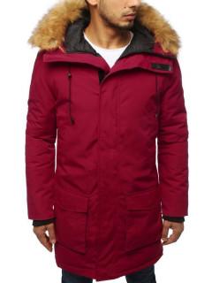 Vyriška žieminė striukė Mike (bordinės spalvos)