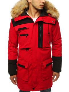 Vyriška žieminė striukė Liam (Raudonas)