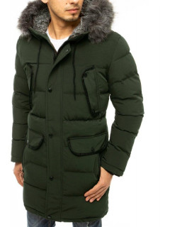Vyriška žieminė striukė (Žalia) Eddy