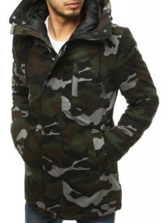 Vyriška žieminė striukė (chaki spalvos) Sido