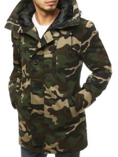 Vyriška žieminė striukė (Žalia) Emilian