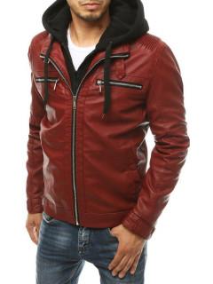 Vyriška odinė striukė Billy (Raudona)