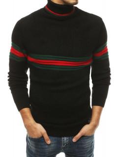 Vyriškas megztinis (Juodas) Dilan