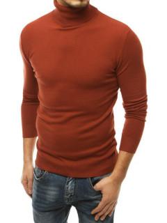 Vyriškas megztinis golfas (rudos spalvos) Chris