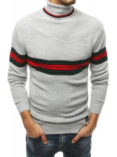 Vyriškas megztinis (šviesiai pilkos spalvos) Adam