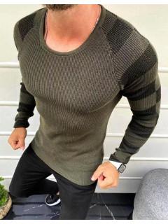 Vyriškas megztinis (chaki spalvos) Ethan