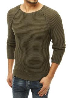 Vyriškas megztinis (chaki spalvos) Leo
