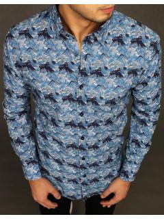 Vyriški marškiniai (mėlynos spalvos) Ell