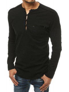 Vyriški marškiniai (Juodi) Leon