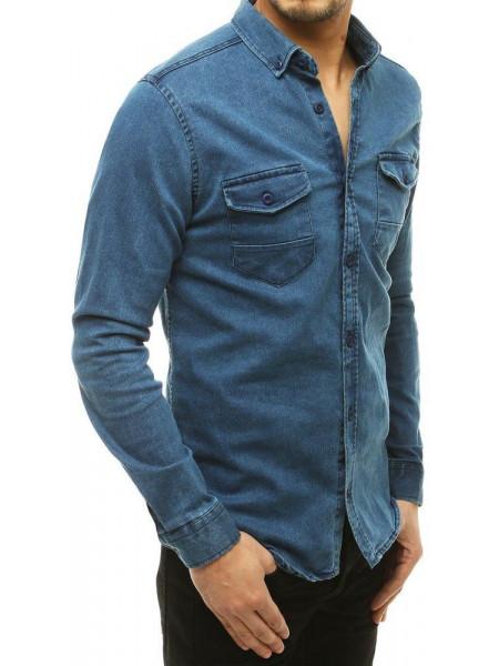 Vyriški marškiniai (Tamsiai mėlyna) Drake