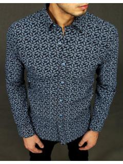 Vyriški marškiniai (Tamsiai mėlyna) Dovid
