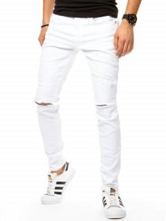 Vyriški džinsai (baltos spalvos) Denis