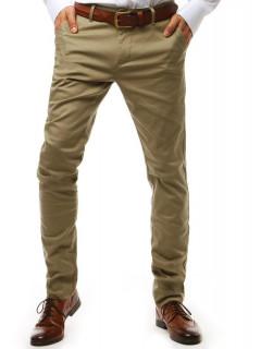 Vyriškos kelnės Grayson (rusvai gelsvos spalvos)