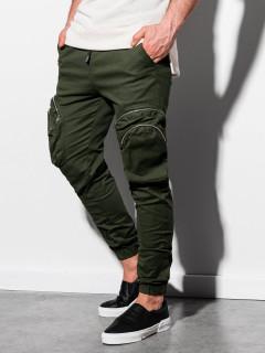 Laisvalaikio kelnės (chaki spalvos) Stue