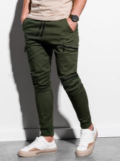 Laisvalaikio kelnės (chaki spalvos) Grego